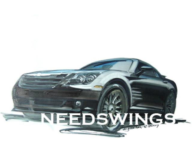 Crossfire SRT6 Coupe Rendering