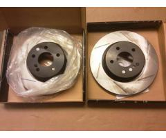 PowerSlot slotted brake rotors SRT6 Rear
