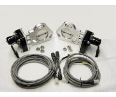 """DMH Dual 2.5"""" Exhaust Cutout Openers"""