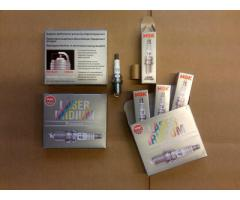 NGK Laser Iridium Spark Plug Set, Stock Heat range