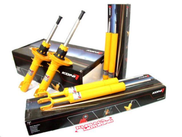 Koni Adjustable Yellow Sport shocks F+R