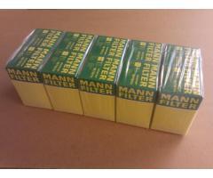 Case of Mann Fleece Oil Filters