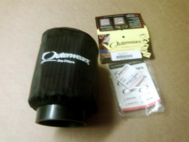 K&N DryCharger filter cover