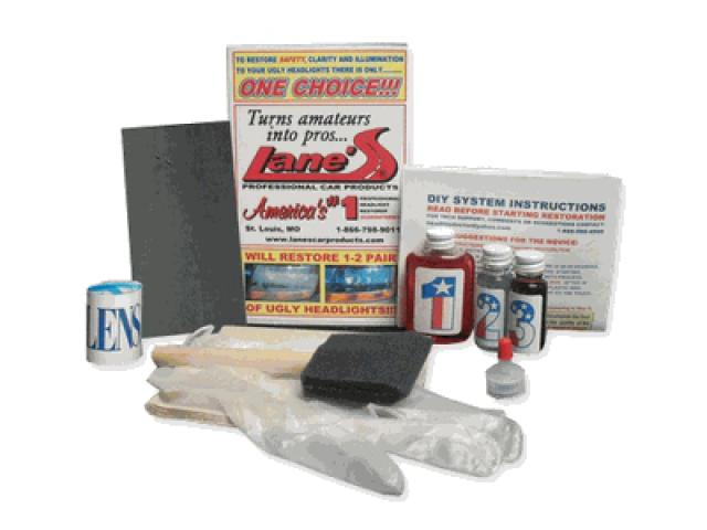 Lanes Headlight Cleaning kit