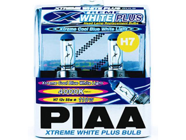 PIAA H7 Xtreme White Plus Headlight Bulbs