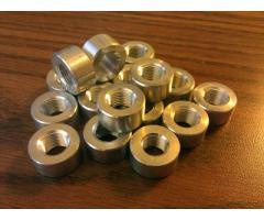 """Aluminum 1/8"""" NPT Weld-On Bung"""