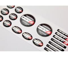 Crossfire SRT6 domed emblems set