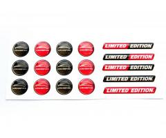 Crossfire coupe key fob domed stickers