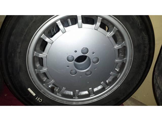 Mercedes 16 inch wheels with slicks