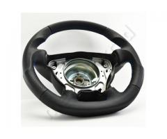 Steering wheel - Black/Black/Blue - Sport Grip - 1138a10 - Meinlenkrad