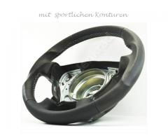 Steering wheel - Dark Gray/Dark Gray/White - Sport Grip -  1138a5 - Meinlenkrad