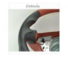 Steering wheel - Grey/Red/Red - Sport Grip - 1138a5.4 - Meinlenkrad