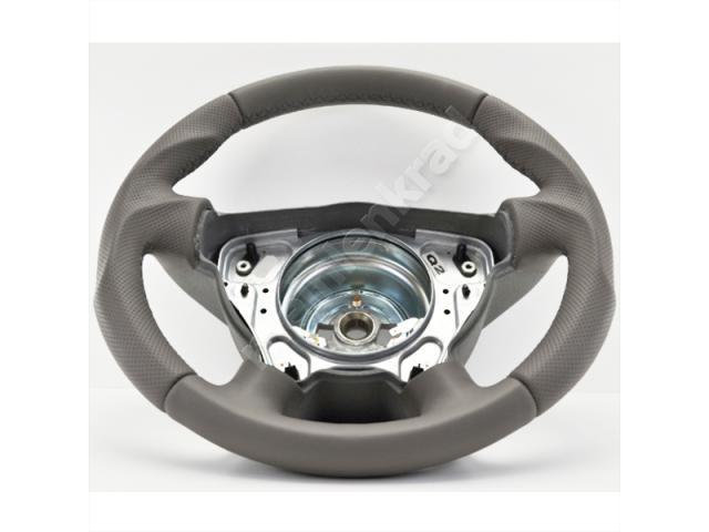 Steering wheel - Grey/Grey - Sport grip - 1138a5.2 - Meinlenkrad