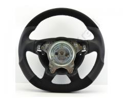 Steering wheel - Grey/Alacantra/White - Sport grip - 1138a10.2 - Meinlenkrad