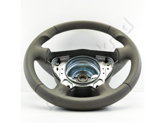 Steering wheel - Grey/Grey - Thumb grip - 1138a5.7.1 - Meinlenkrad