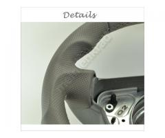 Steering wheel - Grey/Grey/White - Sport Grip - 1138a5.6 - Meinlenkrad