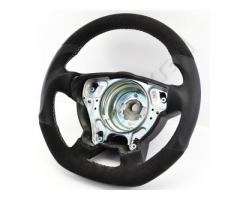 Steering wheel - Grey/Alacantara/White - Sport grip - 1138a10.3 - Meinlenkrad