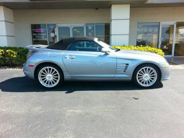 chrysler crossfire srt6. 2005 chrysler crossfire srt6 roadster srt6