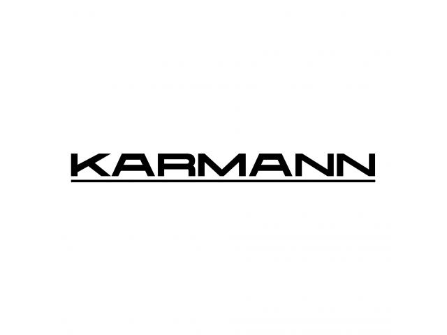 Karmann rear decals 3 pieces