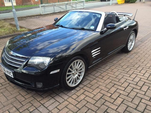 chrysler crossfire srt6 black. 2006 chrysler crossfire srt6 auto black very rare chrysler crossfire srt6 black f