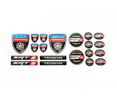 Chrysler Crossfire emblems set