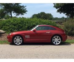 2004 Chrysler Crossfire - Red - Raleigh, NC - $6500